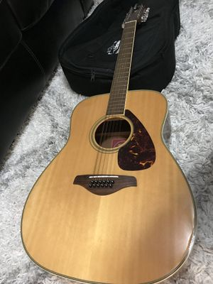 12 String Acoustic Guitar - Yamaha FG720S-12 for Sale in Alexandria, VA