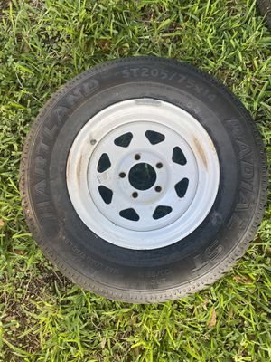 Trailer spare tire for Sale in Killeen, TX