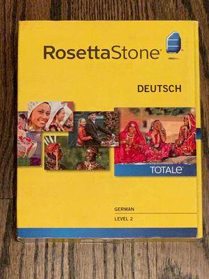 Rosetta Stone German Ver 4 Level 2 NIB TOTALe Deutsch for Sale in Villa Park, IL
