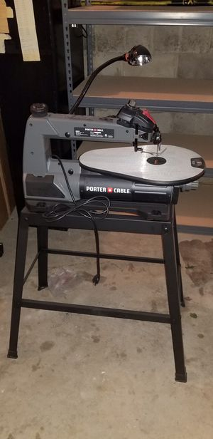 Porter cable. Scroll saw with stand for Sale in Lakewood Township, NJ