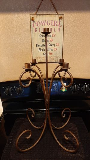 Rustic candelabra for Sale in Phoenix, AZ