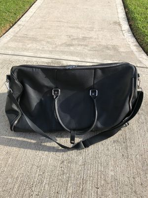 Combatgent Leather Weekender Garment Bag for Sale in Houston, TX