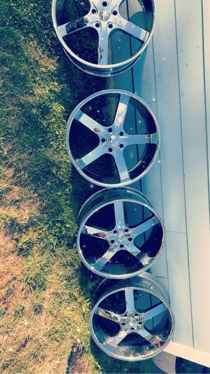 24 inch rims for Sale in Hillsboro, OR