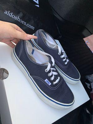 Women's Vans Blue Size 7.5 for Sale in Naples, FL