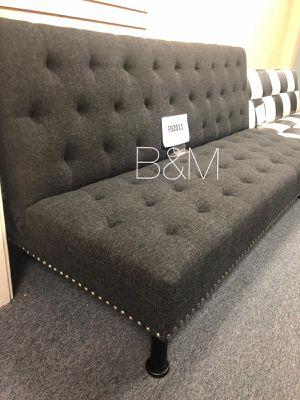 Brand new dark grey sofa bed/ futon for Sale in Houston, TX