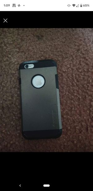 iPhone 6 unlocked for any company with cover case and charger for Sale in Polk City, FL