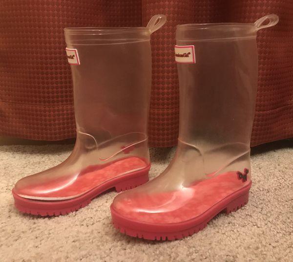 Girl's Peek-a-Boo WellieWisher Rain Boots