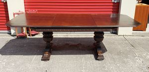 Antique 1900s Walnut Dining Table- 8ft Long for Sale in Lorain, OH