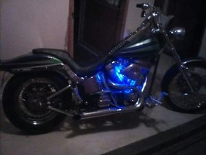 Harley Evo Ss. Motor.revtech heads aftermarket softail frame 5speed trans. Motor rebuilt . for Sale in Fresno, CA