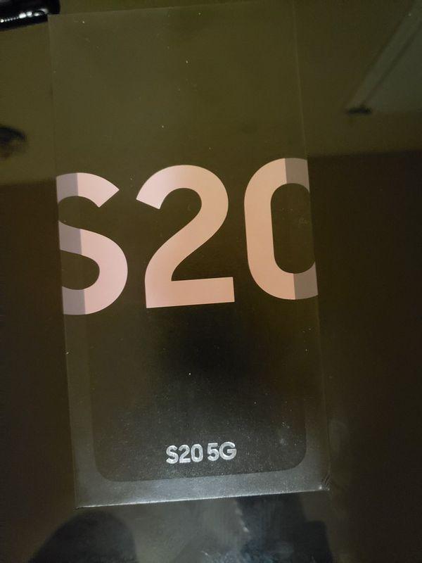 Samsung Galaxy S20 tmobile new in Box Pink