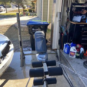 Weight Set With Weights for Sale in San Antonio, TX
