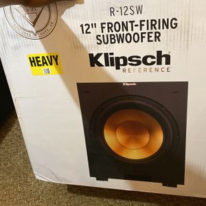 "Klipsch 12"" front firing Subwoofers for Sale in Philadelphia, PA"