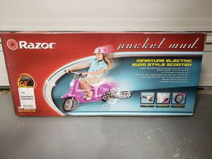Razor pocket mod electric powered scooter for Sale in Virginia Beach, VA