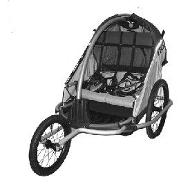 Trek Solo Bug Bike Trailer / Jogger for Sale in San Jose, CA