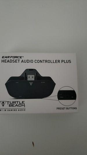 Turtle Beach headset audio controller plus for Sale in Las Vegas, NV
