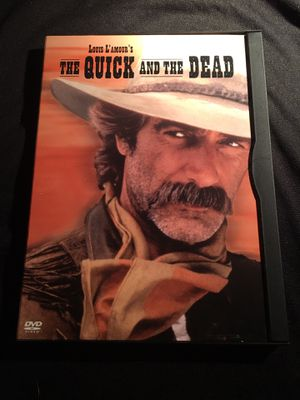 1987 Louis L' Amour's The Quick and the Dead Sam Elliott Kate Capshaw Tom Canti Wide Screen Dolby Digital DVD GREAT CONDITION NO SCRATCHES for Sale in La Habra Heights, CA
