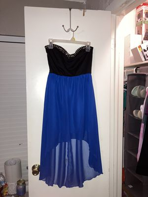 Strapless royal blue dresss for Sale in Fort Worth, TX