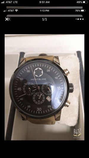 A1 montblanc watch sell for Sale in Manassas, VA