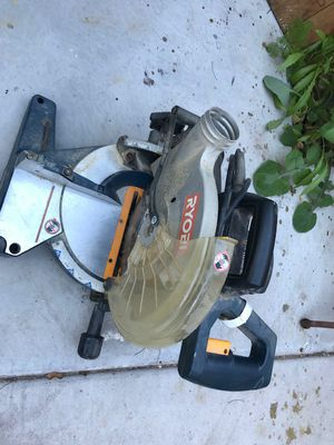 RYOBI miter saw for Sale in Tempe, AZ