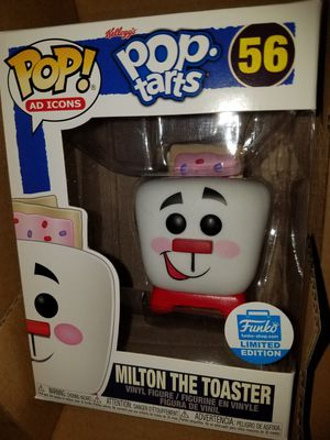 Funko pop milton the toaster pop tarts ad icon for Sale in Ontario, CA