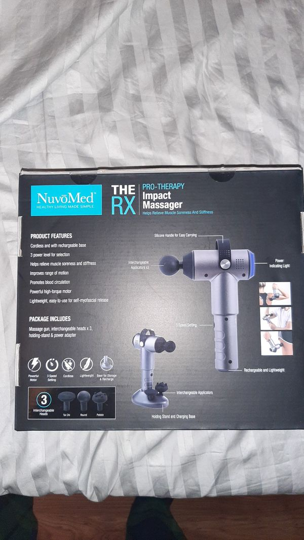 NuvoMed TheRX massager