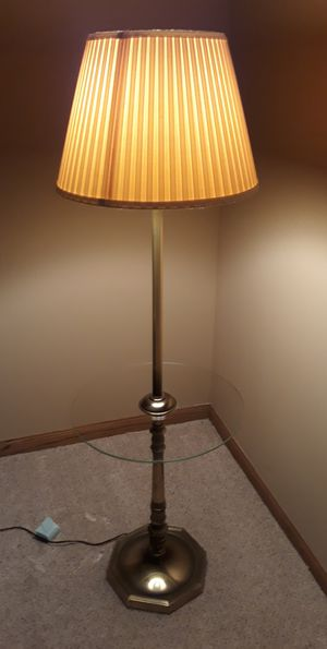 Brass antique table lamp for Sale in Joliet, IL