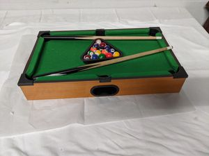 "20 x 12"" Table Top Billiards Pool Table & Accessories for Sale in Tampa, FL"