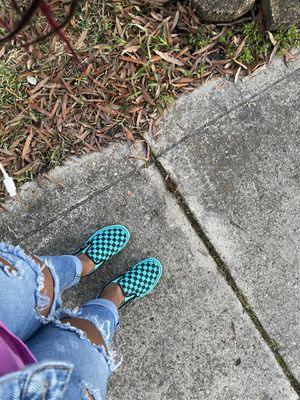 Slip-On Tile Checker Board Vans for Sale in Rocky Mount, NC