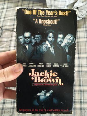 Vhs tape jacki brown $3 for Sale in Tulsa, OK