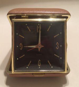 Vintage Phinney Walker Folding Travel Alarm Clock Made In Japan for Sale in Prospect Park, NJ