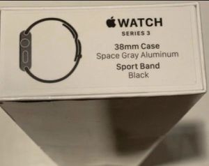 Apple Watch Series 3 (38MM) with warranty for Sale in Brooklyn, NY