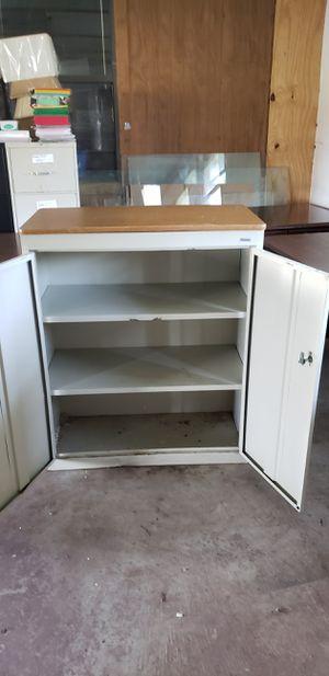 3 total 2 shelves office or garage storage for Sale in Vinita, OK