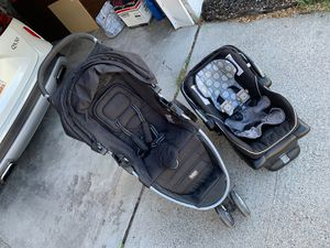 B-agile Britax stroller and car seat combo for Sale in Draper, UT