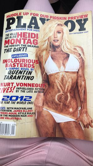 September 2009 Heidi Montag Playboy Magazine Original Cover for Sale in Evansville, IN