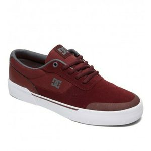DC Switch Plus S Trainers in Burgundy upper leather Sinthetic Size 6.5 Men's for Sale in Compton, CA