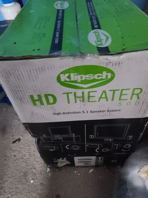 KLIPSCH speaker for tv set powerful high definition like new for Sale in Silver Spring, MD