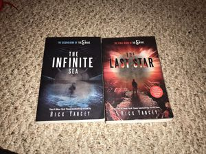 2nd and 3rd book to 5th Wave Series - $5 a piece for Sale in Albia, IA