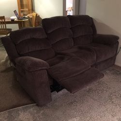 Couch With 2 Recliners for Sale in Bellevue,  WA