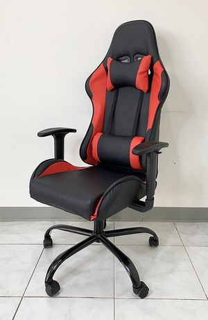 (NEW) $115 Computer Gaming Chair for Home Office Recline Adjustable Seat for Sale in South El Monte, CA