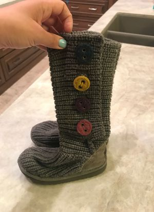 Toddler girls Sz 10 ugg sweater boots for Sale in Scottsdale, AZ