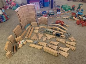 Lot of wooden Thomas and Friends tracks and Accessories for Sale in Orlando, FL