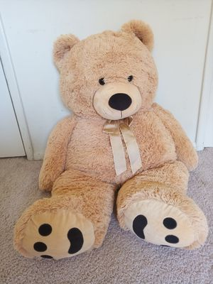 Big plush teddy bear ~35inches for Sale in Rockville, MD