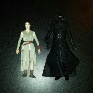 Rey & Kyle Ren Black Series 6inch Loose for Sale in Antioch, CA