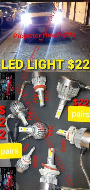 Led Light hid Headlights Headlights Led Fog Light bulbs Led H3$22 H1$22 -H7 $22- H11$22- H13$22 -9005$22-9006$22-9007$22 5202 $22- 880 $22 $22pair for Sale in Santa Ana, CA