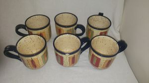 6 Pfaltzgraff Sedona Mugs for Sale in Virginia Beach, VA