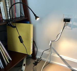 LED clamp reading light for Sale in Fort Lee, NJ