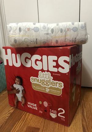 Huggies snugglers size 2! for Sale in Haltom City, TX