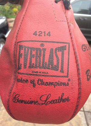 Everlast Speed Bag for Sale in San Diego, CA