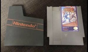 CLASSIC Mega Man 2 for Nintendo NES with Nintendo Dust Cover! Christmas/ Santa! for Sale in Henderson, NV
