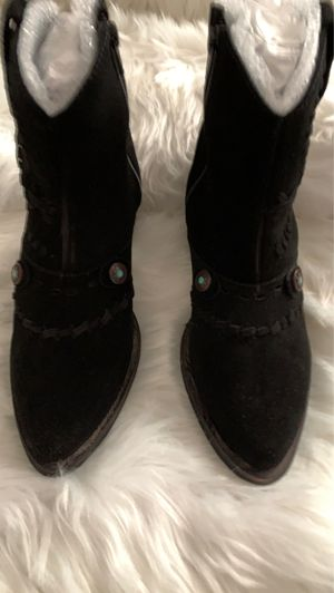 Diego di lucca Black boots 5 1/2 for Sale in Cleveland, TN